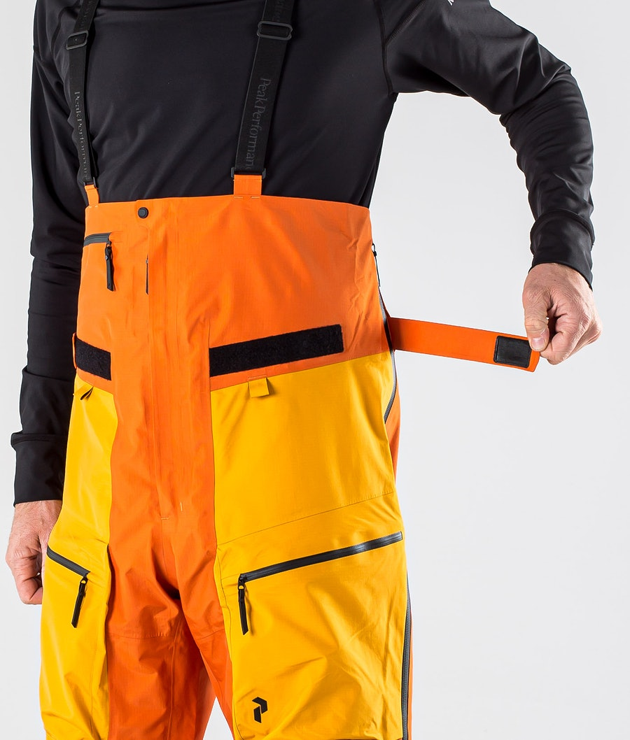Peak Performance Vertical Pro Pantaloni Snowboard Orange Altitude