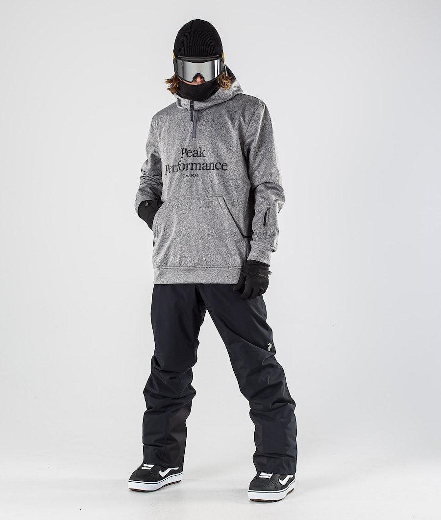 Peak Performance Original Ski SS Snowboard Jacket Grey melange