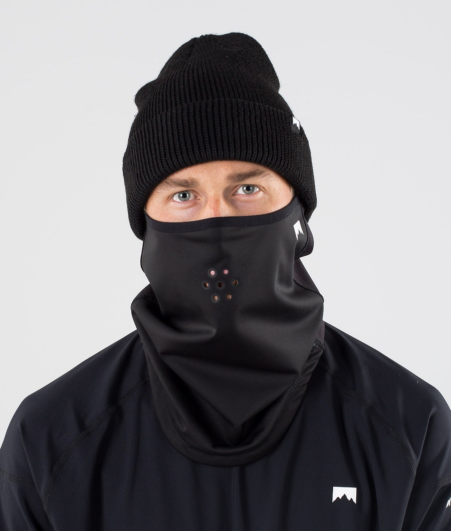 Ice Tube Facemask Men Black