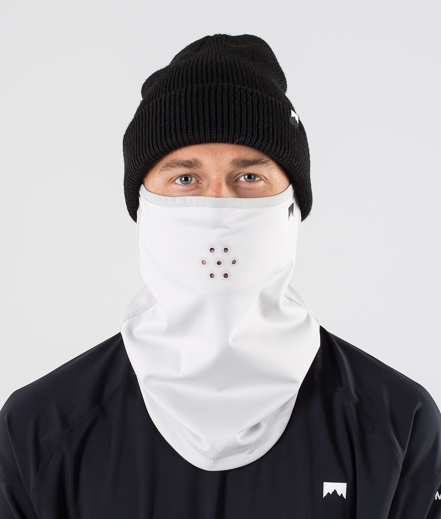 Ice Tube Facemask Men Light Grey