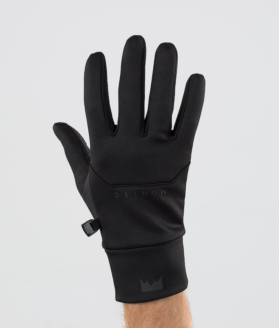Montec Utility Glove Ski Gloves Black/Black Ski Gloves Black/Black