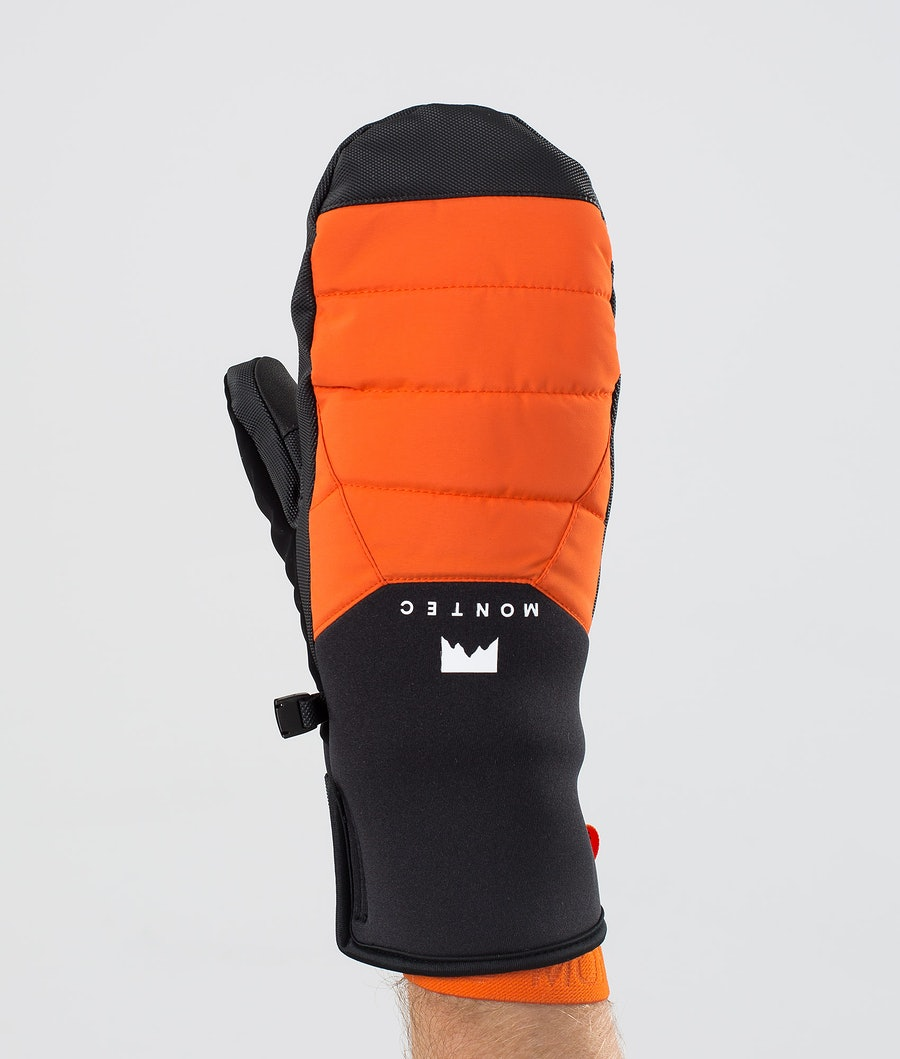 Kilo Mitt Ski Mittens Men Orange