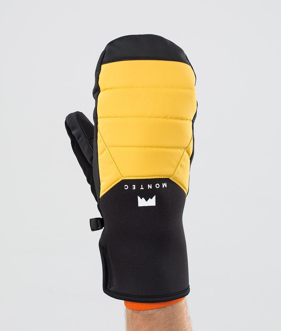 Kilo Mitt Ski Mittens Men Yellow