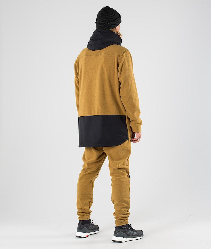 Dope Loyd PO Fleece Hoodie Black/Gold