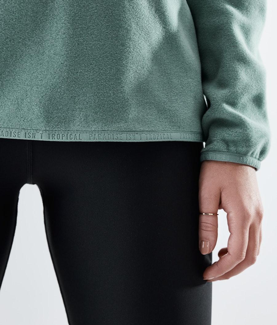 Dope Loyd W Women's Fleece Sweater Faded Green