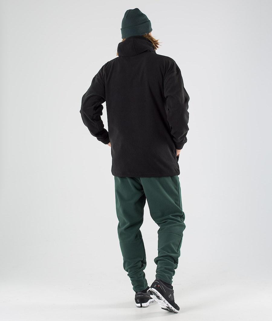 Montec Delta Fleece Hoodie Black