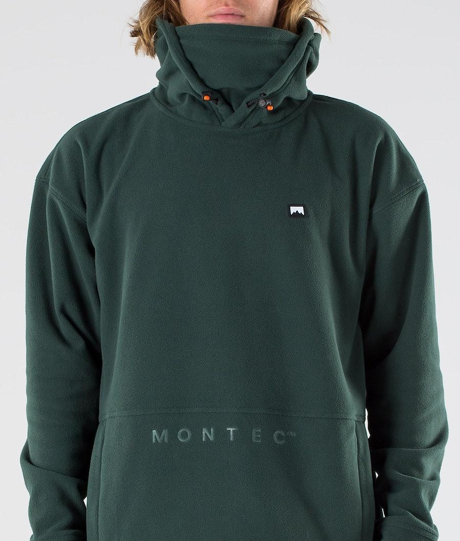 Montec Delta Fleece Hoodie Dark Atlantic