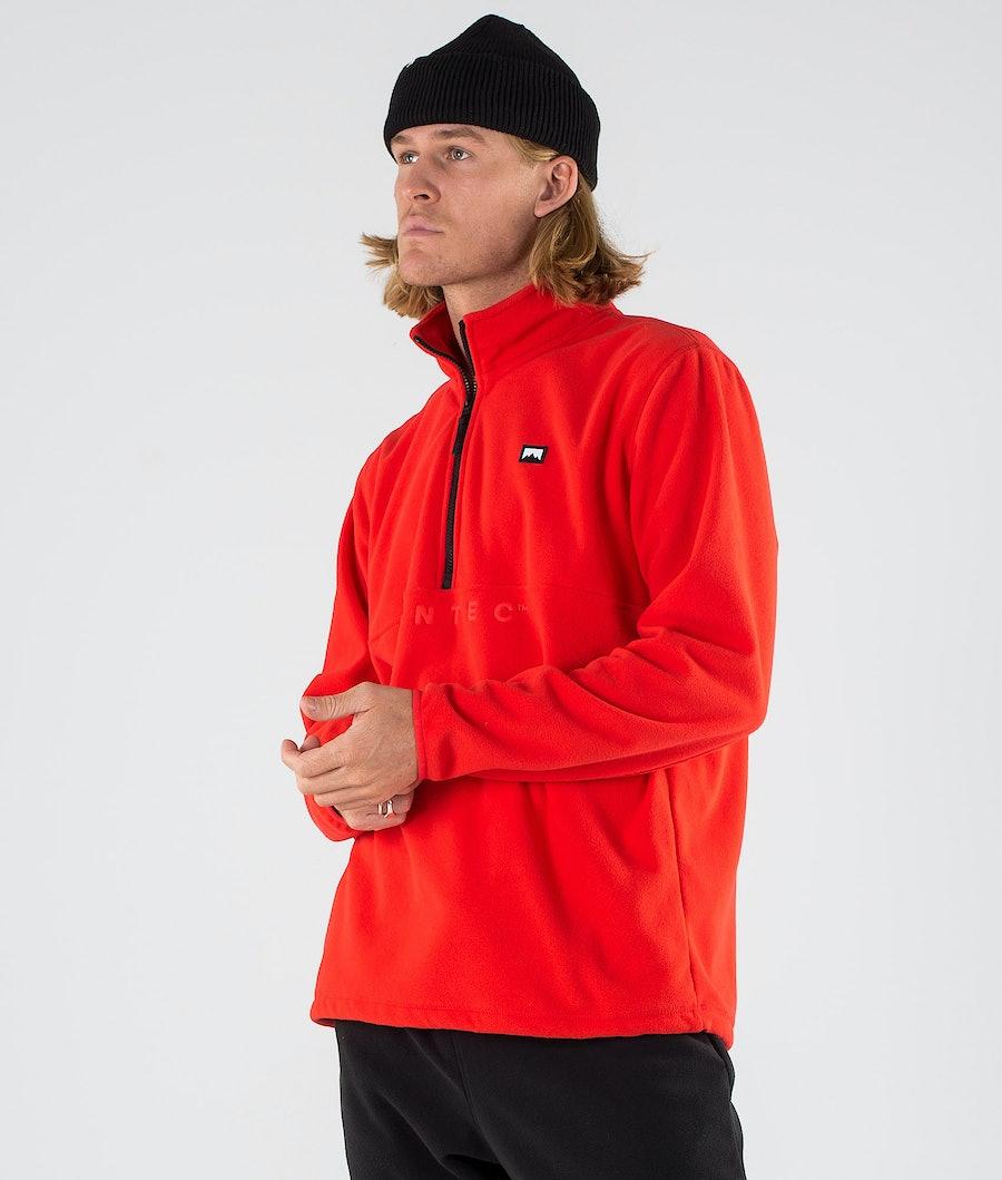 Montec Echo Fleece Sweater Red Fleece Sweater Red