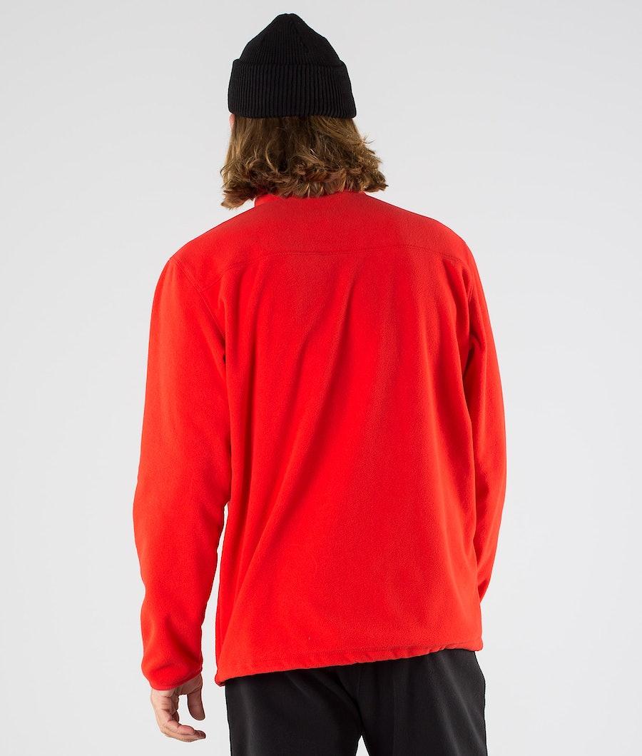 Montec Echo Fleece Sweater Red