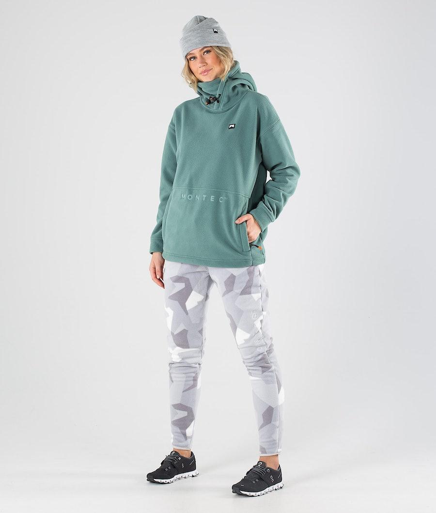 Montec Delta W Women's Fleece Hoodie Atlantic