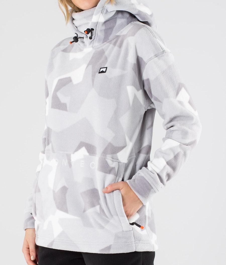 Montec Delta W Women's Fleece Hoodie Snow Camo