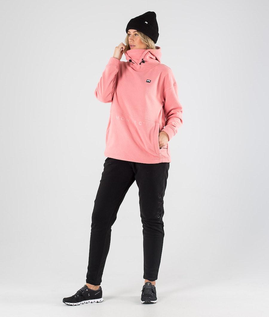 Montec Delta W Women's Fleece Hood Pink