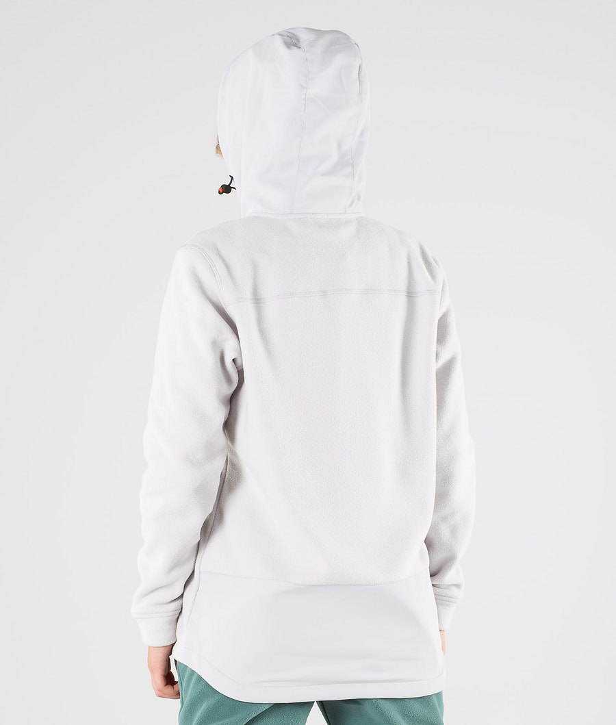 Montec Echo PO W Women's Fleece Hoodie Light Grey