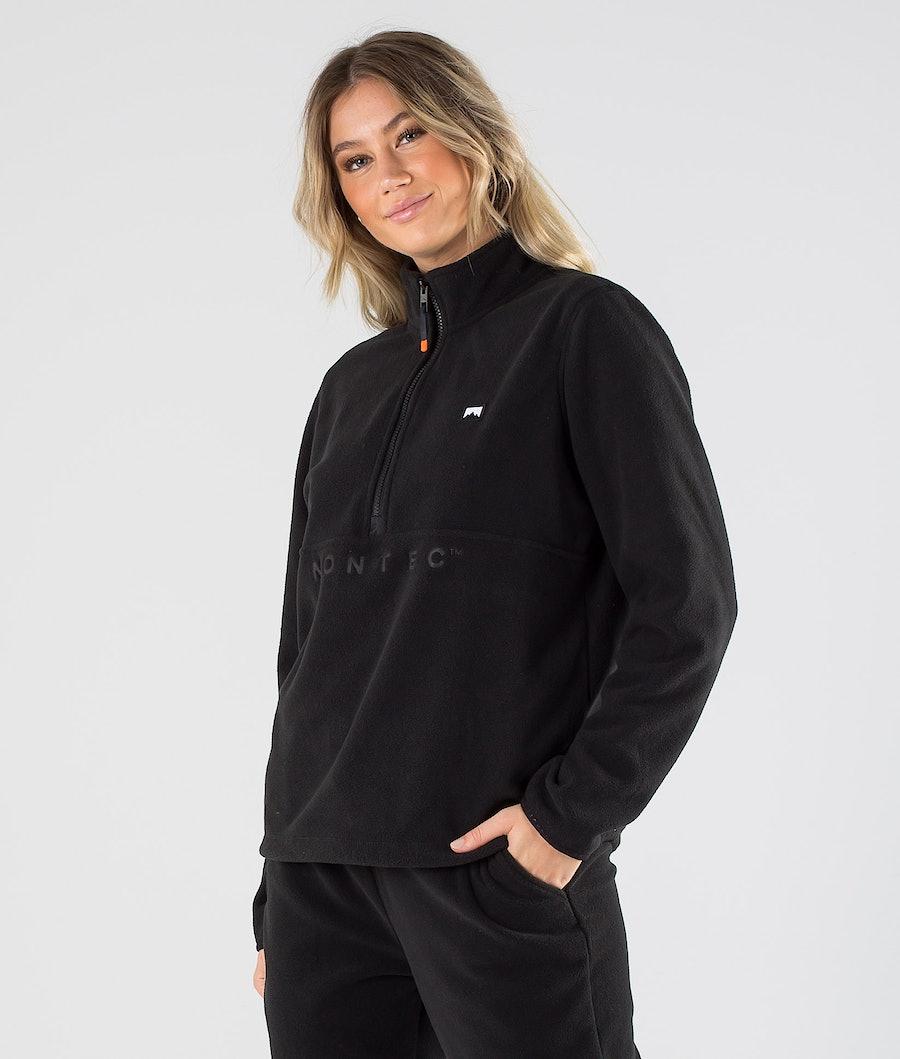 Echo W Fleece Sweater Women Black