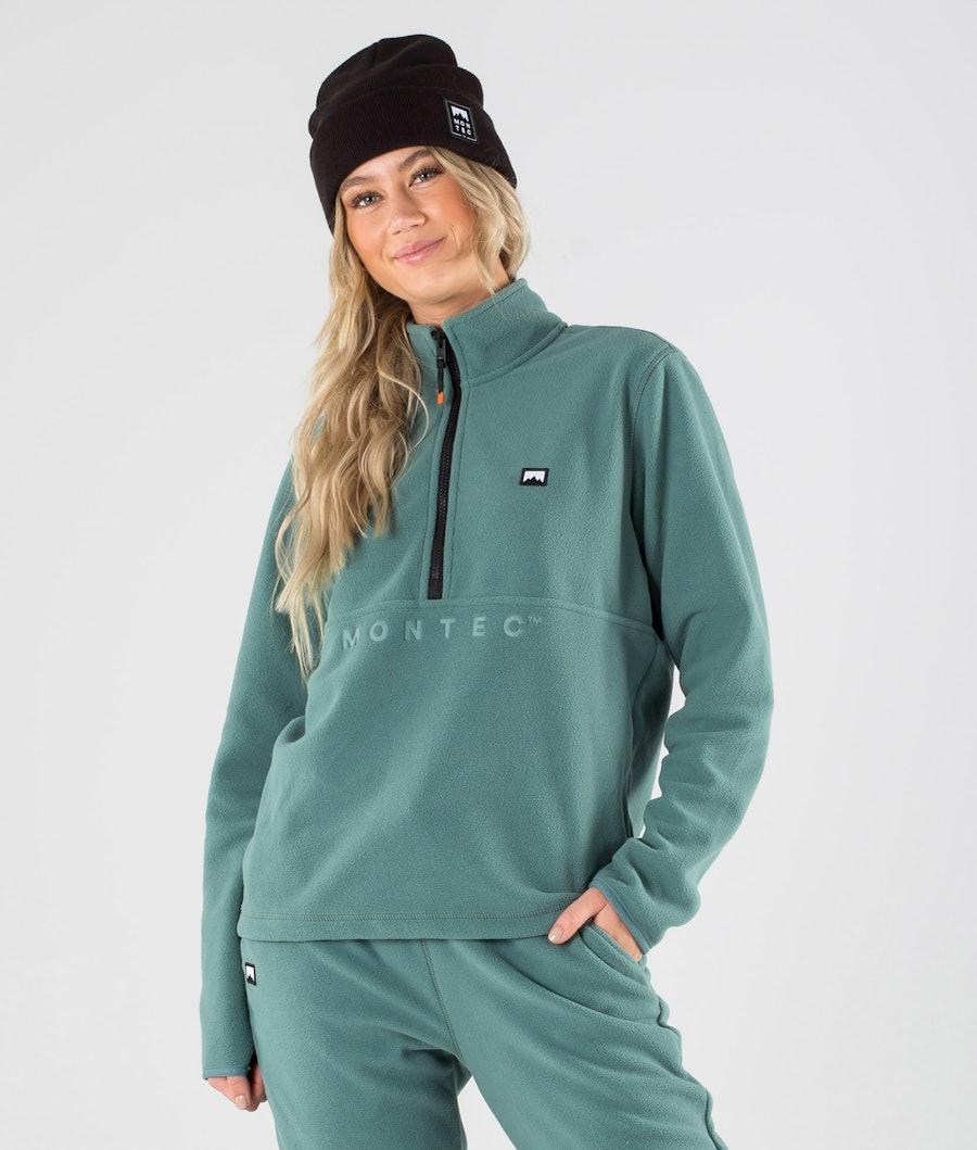 Echo W Fleece Sweater Women Atlantic