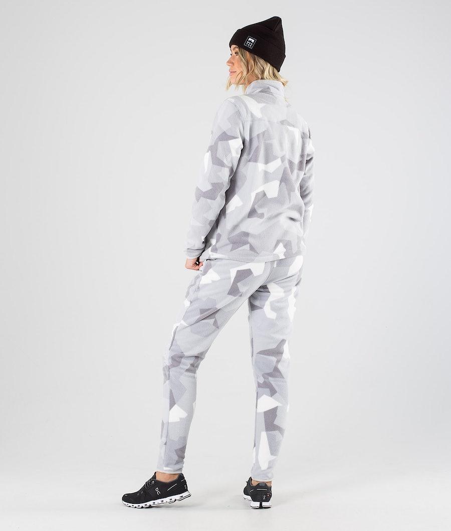 Montec Echo W Women's Fleece Sweater Snow Camo