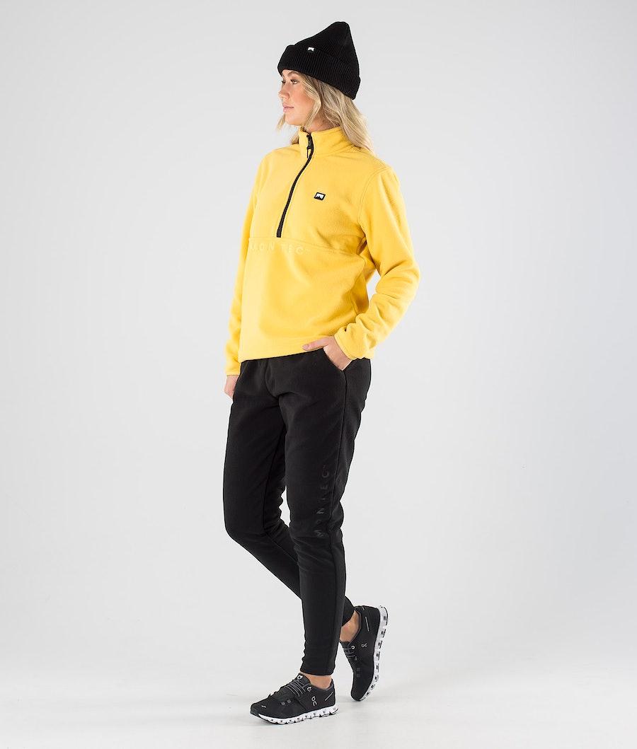 Montec Echo W Women's Fleece Sweater Yellow