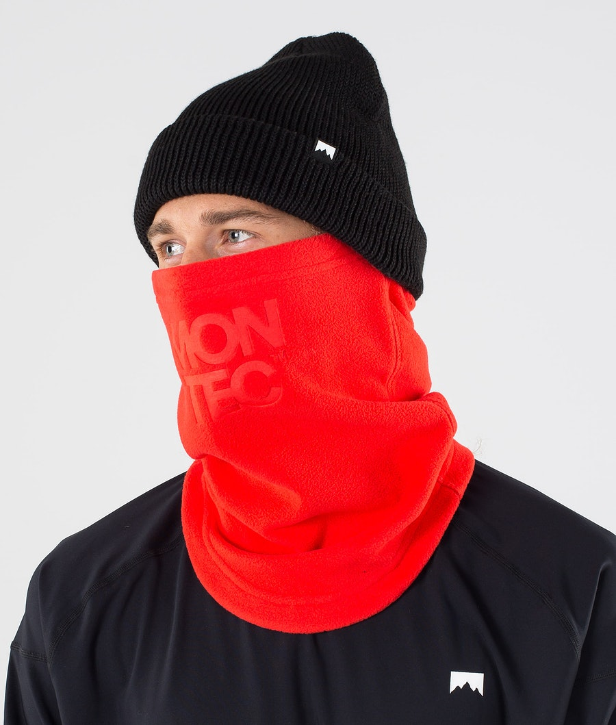 Montec Echo Tube Facemask Red