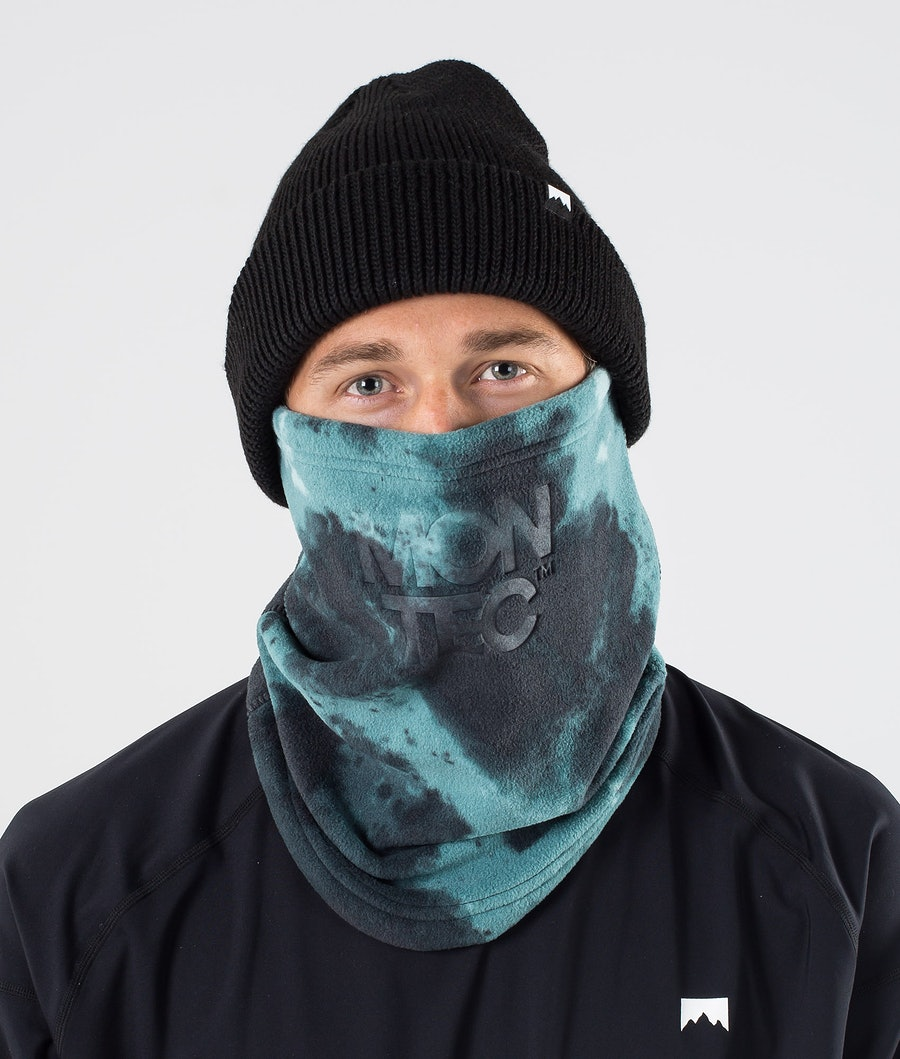 Echo Tube Facemask Men Geen Tie dye