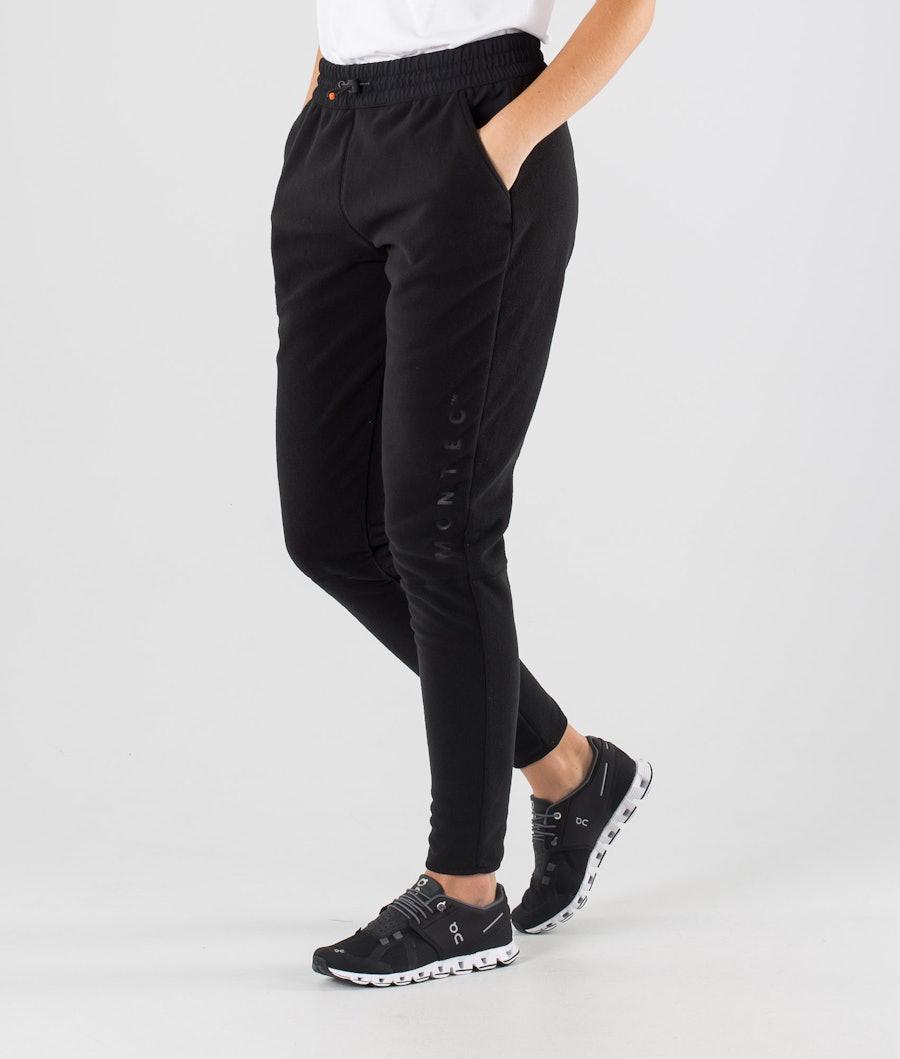 Echo W Fleece Pants Women Black