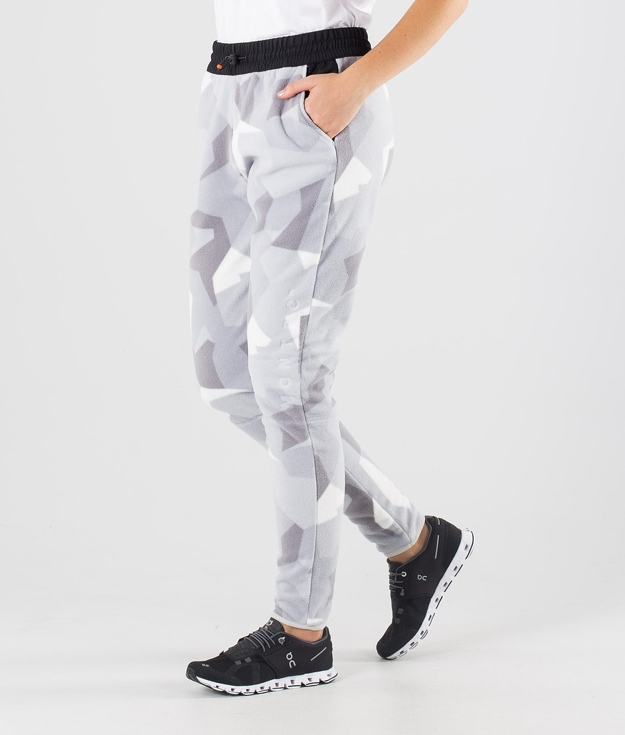Echo W Fleece Pants Women Snow Camo