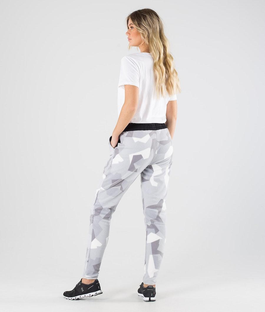 Montec Echo W Women's Fleece Pants Snow Camo