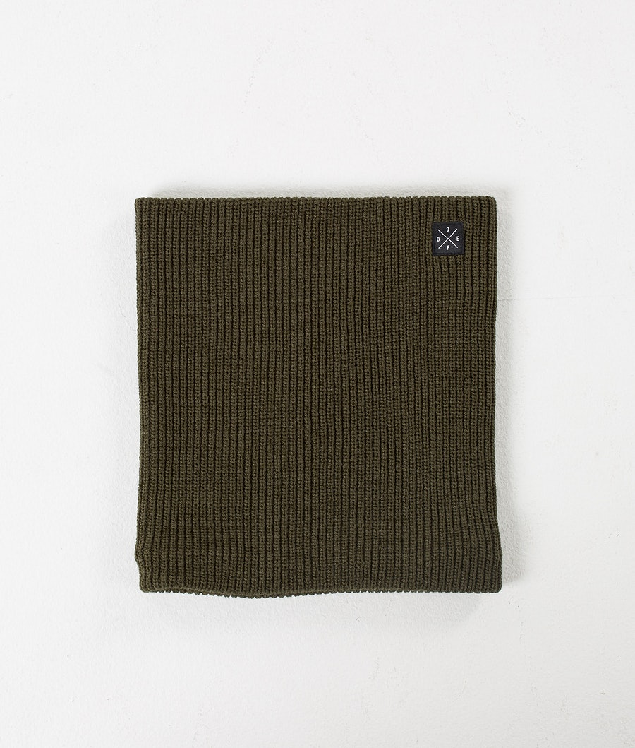 Dope 2X-UP Knitted Facemask Olive Green