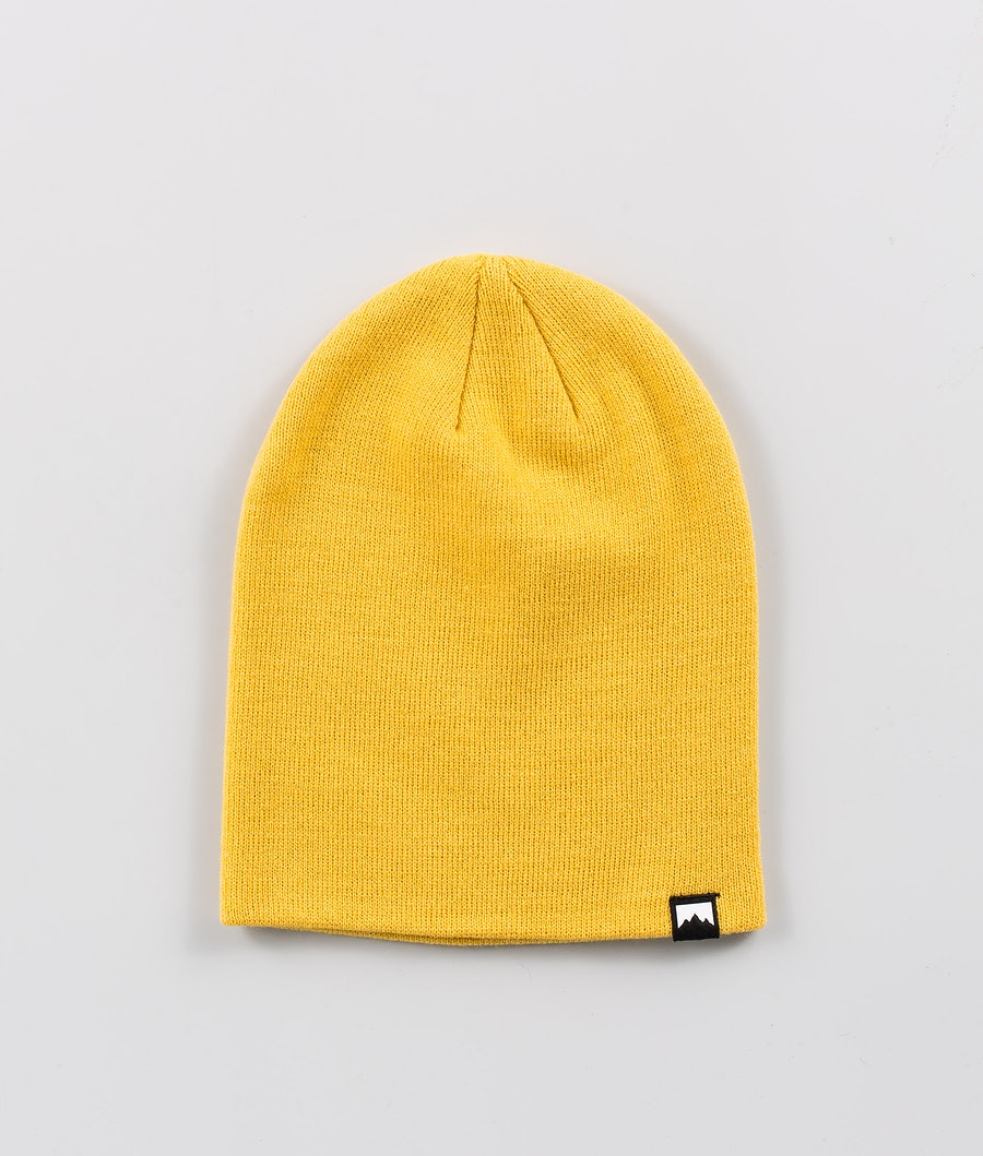 Echo Beanie Men Yellow