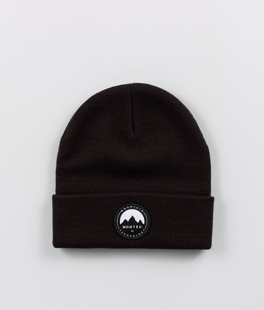 Patch Beanie Men Black