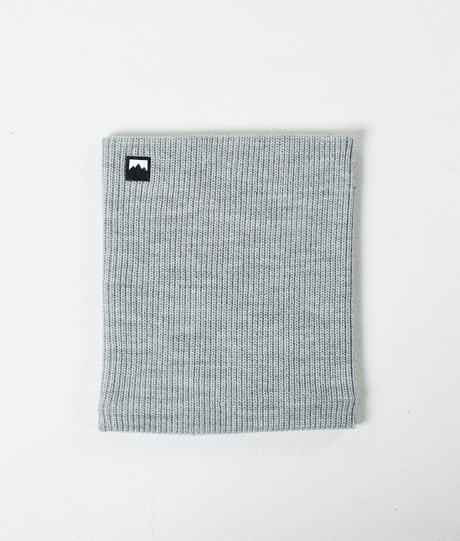 Montec Classic Knitted Facemask Grey Melange