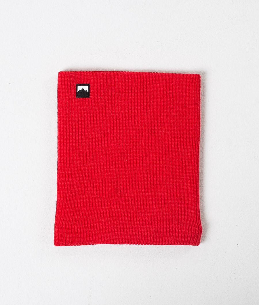 Montec Classic Knitted Scaldacollo Red
