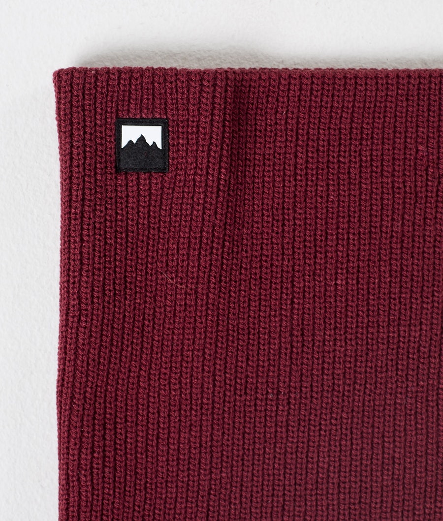 Montec Classic Knitted Facemask Burgundy
