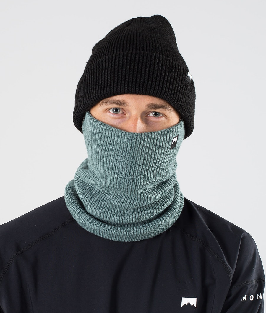 Montec Classic Knitted Facemask Atlantic
