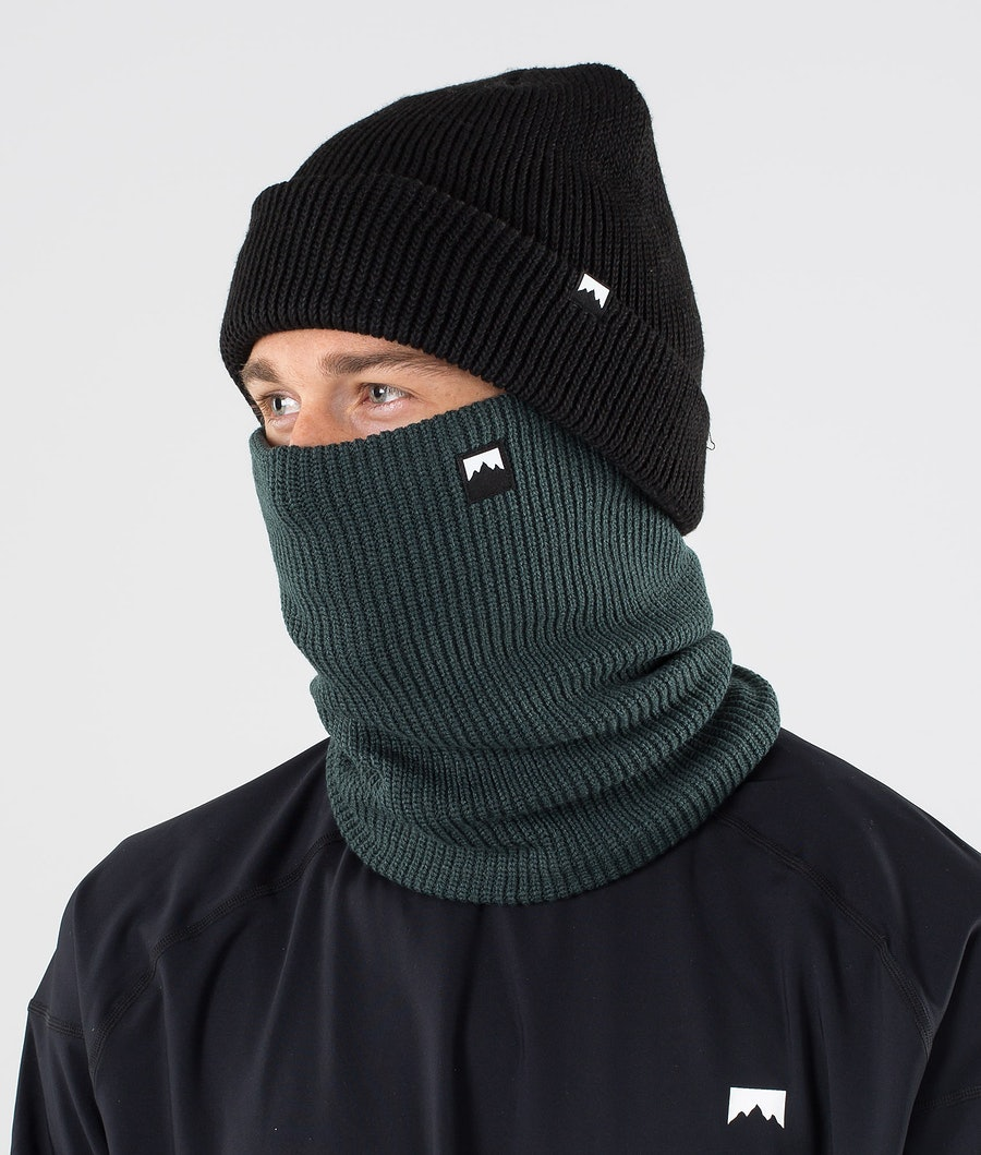 Classic Knitted Facemask Men Dark Atlantic