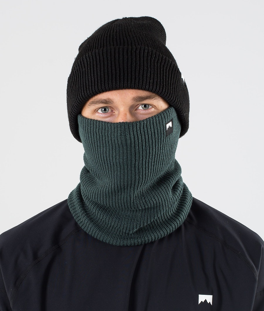 Montec Classic Knitted Facemask Dark Atlantic