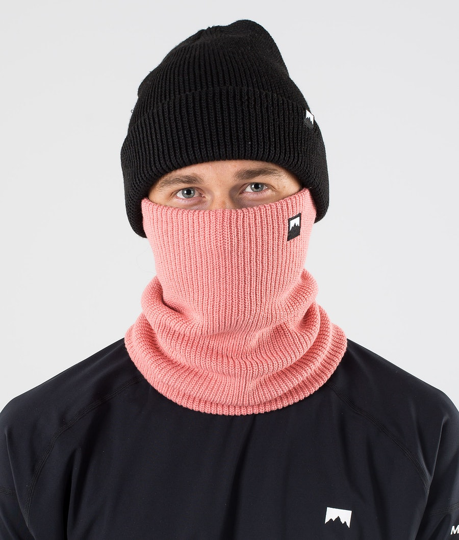 Montec Classic Knitted Facemask Pink