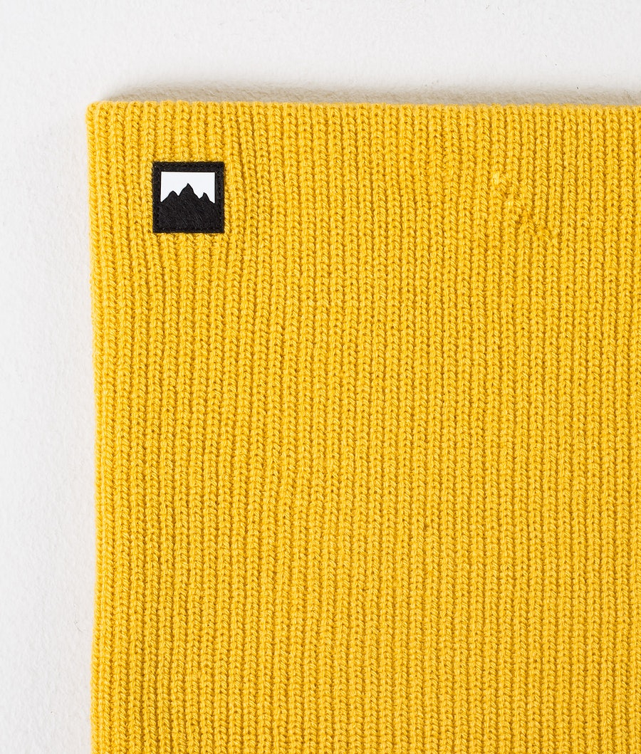 Montec Classic Knitted Facemask Yellow