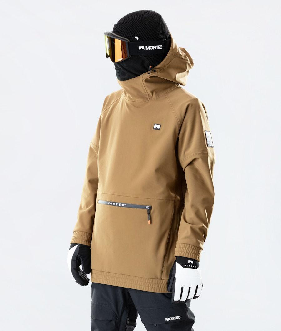 Montec Tempest Ski Jacket Gold