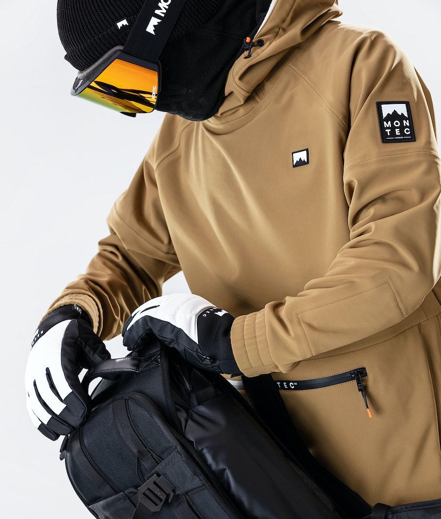 Montec Tempest Snowboardjacke Gold