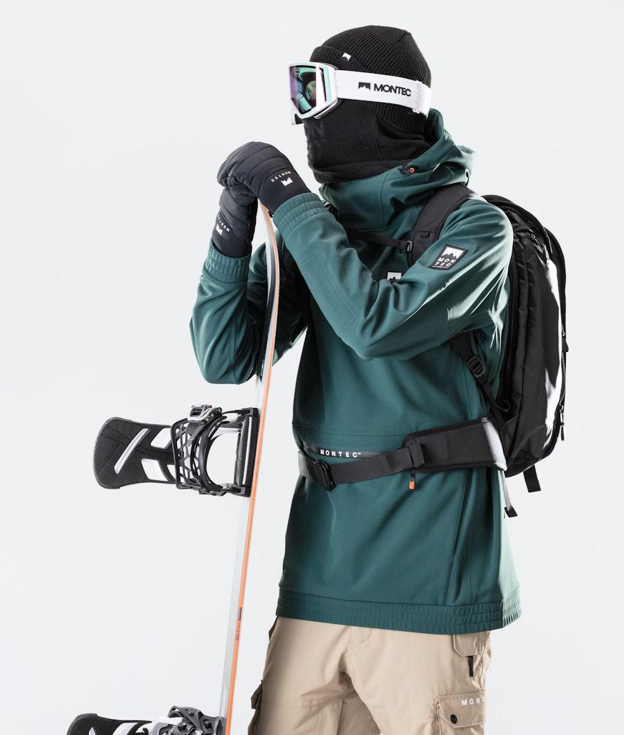 Montec Tempest Snowboard Jacket Dark Atlantic