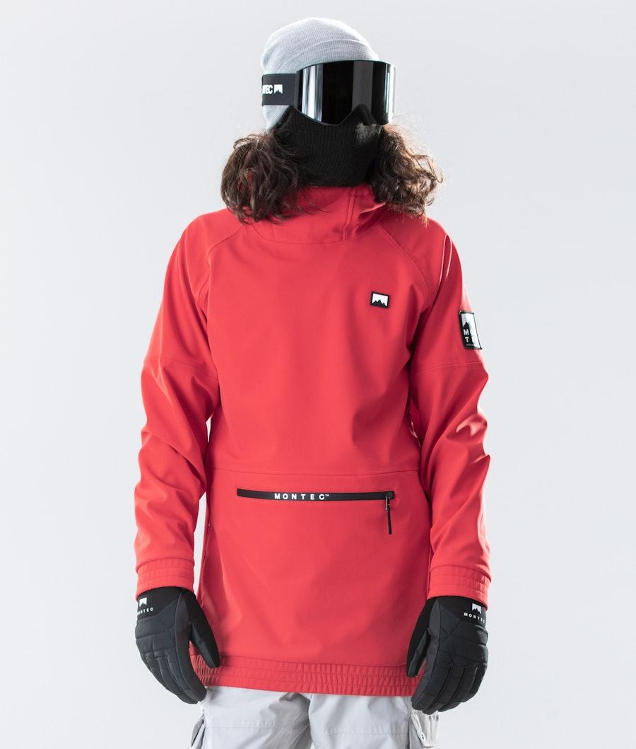 Montec Tempest Snowboardjacke Red