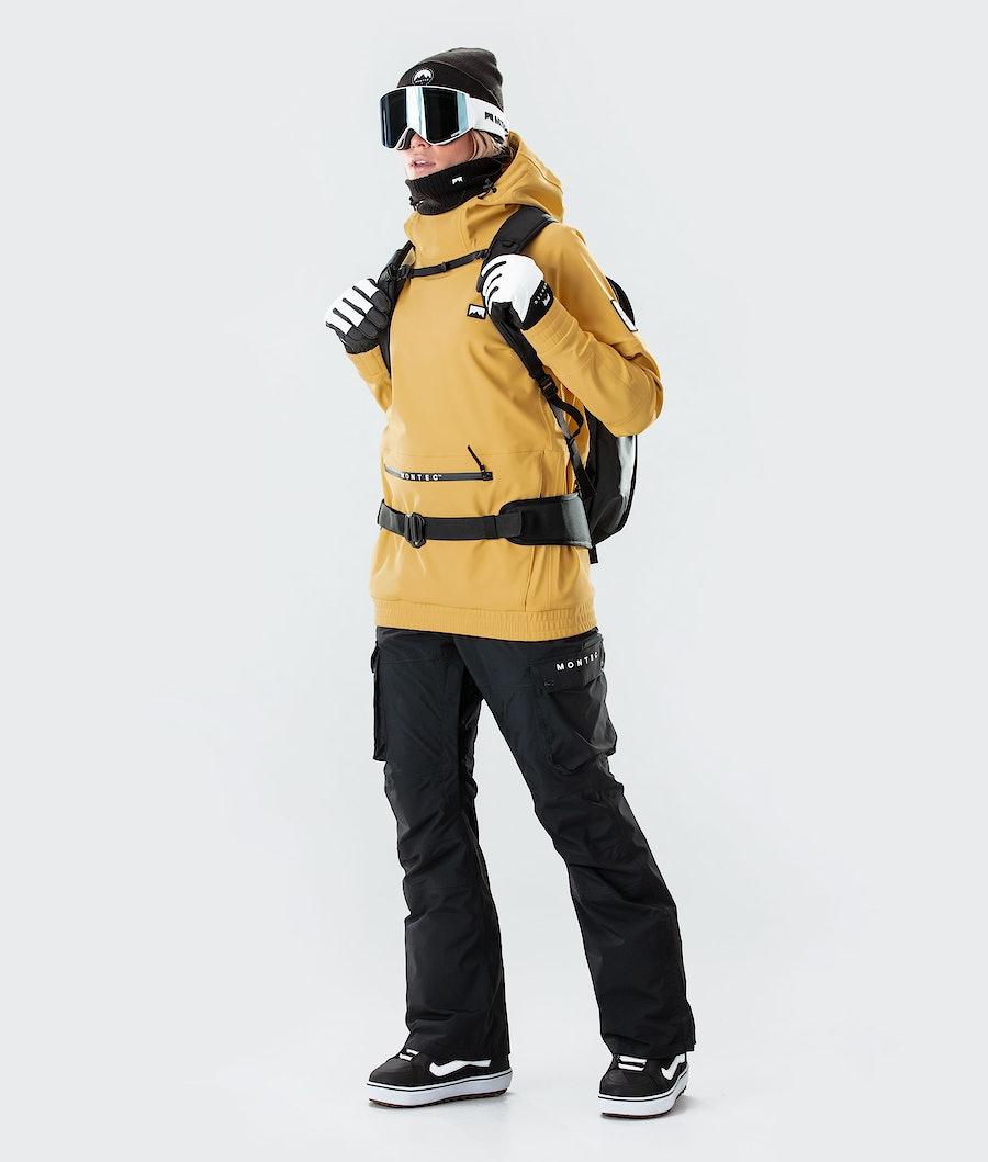 Montec Tempest W Women's Snowboard Jacket Yellow