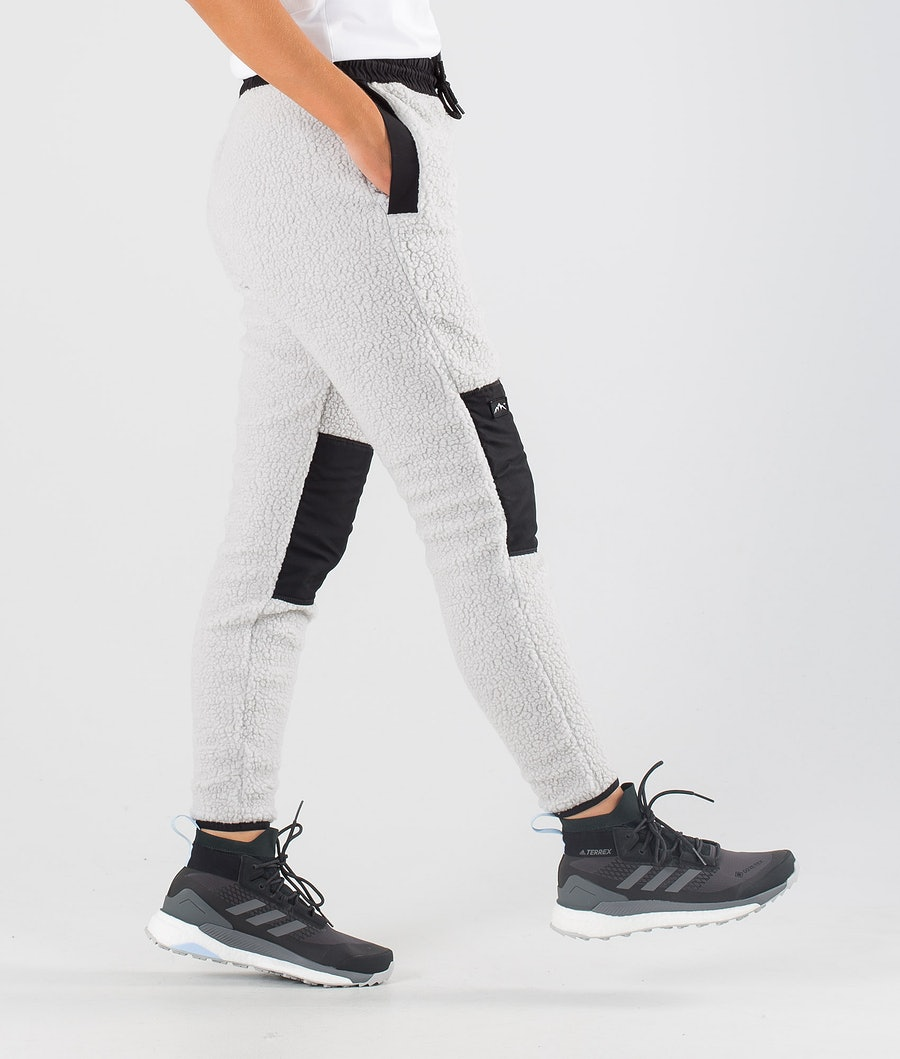 Dope Ollie W Women's Fleece Pants Black/Light Grey