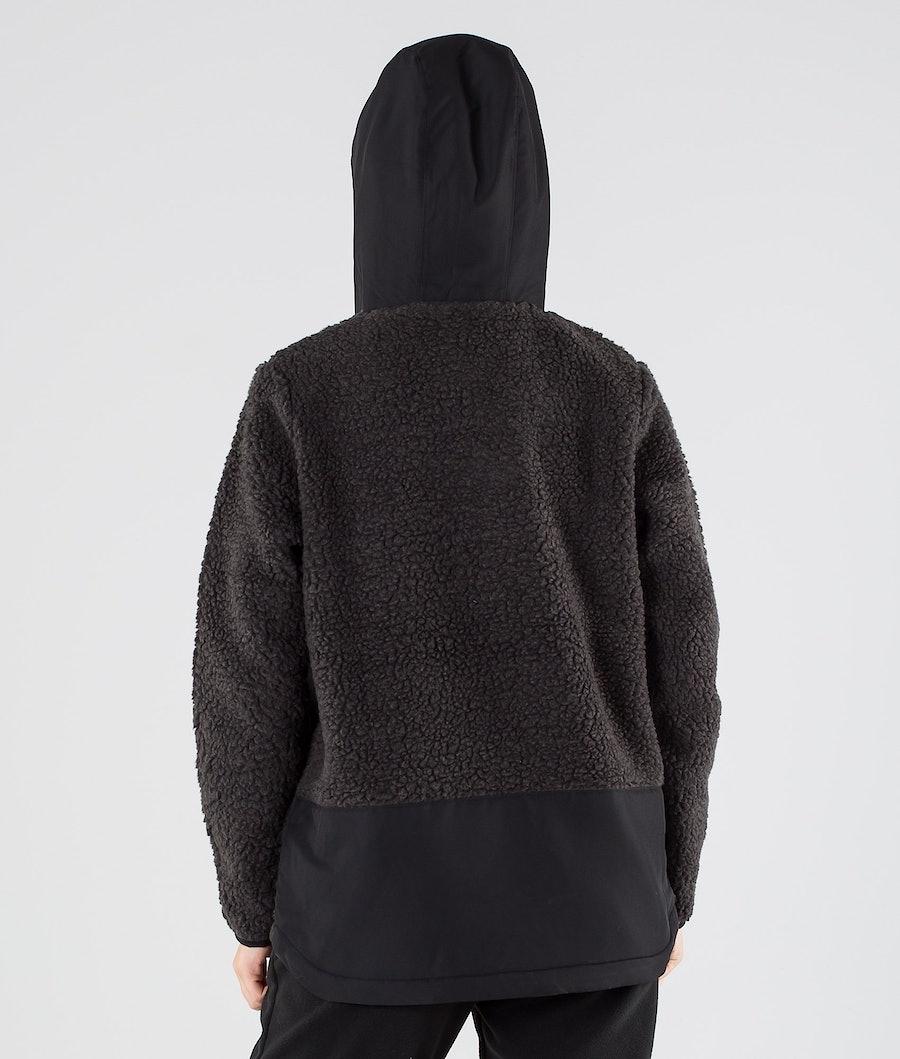 Montec Lima W Women's Fleece Hoodie Black/Phantom