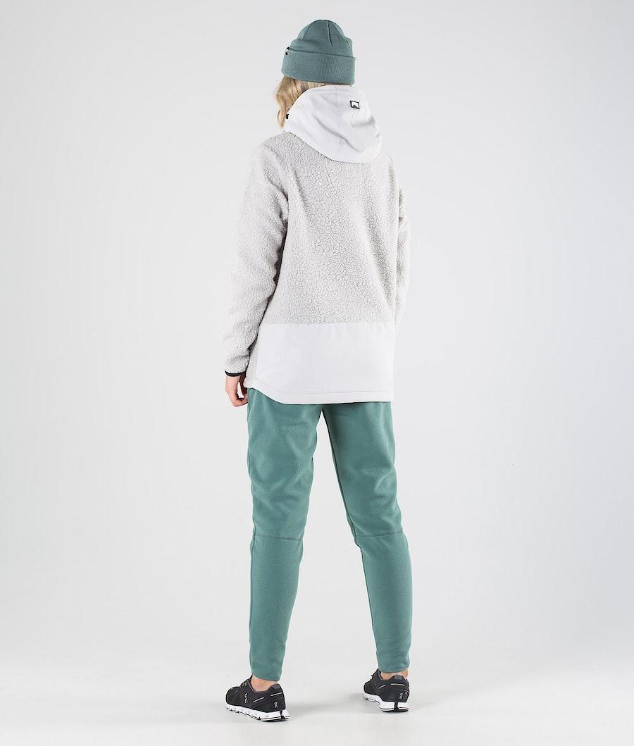 Montec Lima W Women's Fleece Hoodie Light Grey