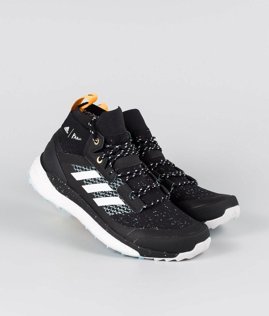 Adidas Terrex Terrex Free Hiker Parley Scarpe Core Black/Dgsogr/Real Gold