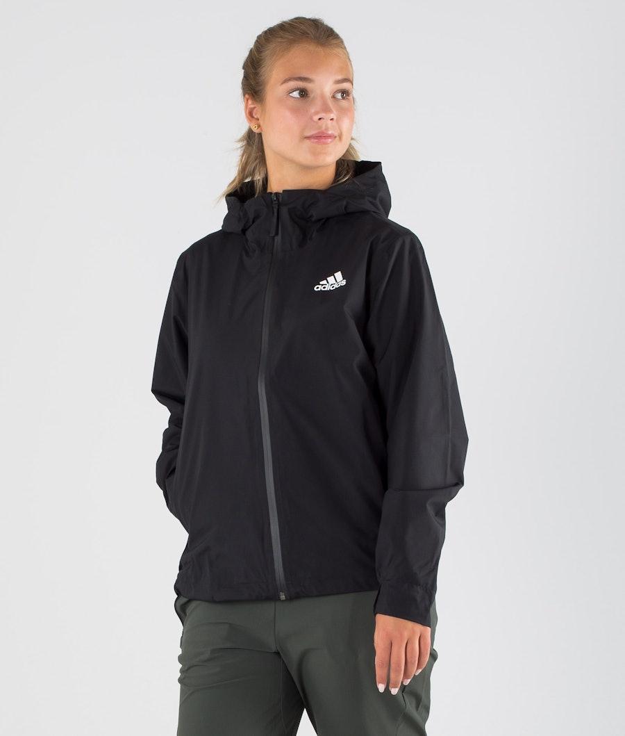 Adidas Terrex BSC 3 Stripes Rain Ready Veste Randonnée Femme Black