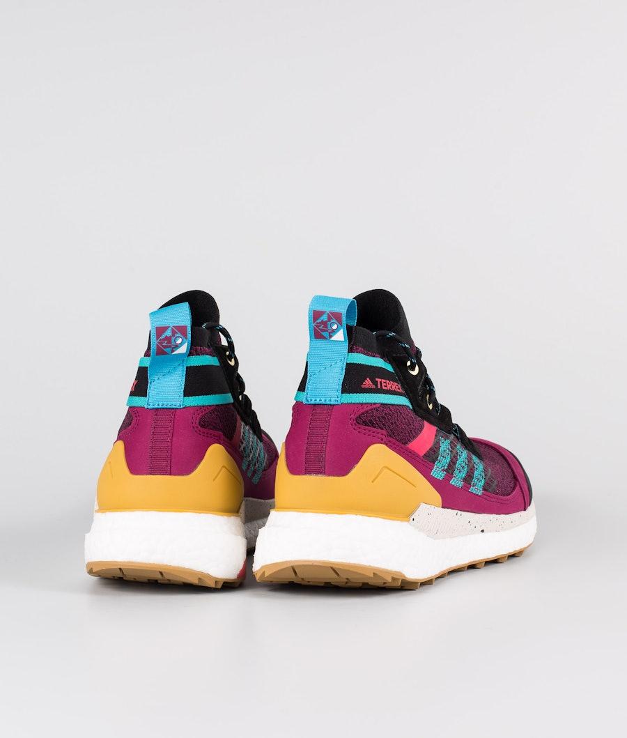 Adidas Terrex Terrex Free Hiker Blue Women's Shoes Power Berry/Alumin/Core Black
