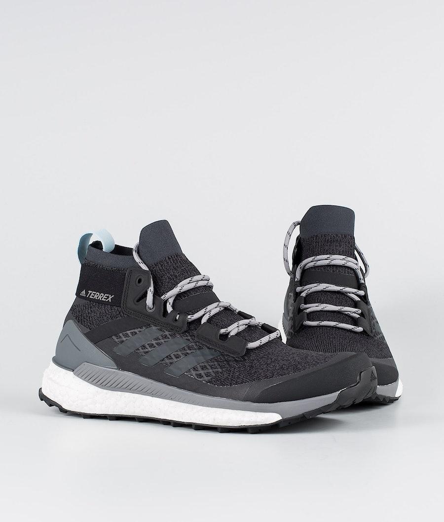 Adidas Terrex Terrex Free Hiker Schoenen Dames Carbon/Carbon/Ash Grey