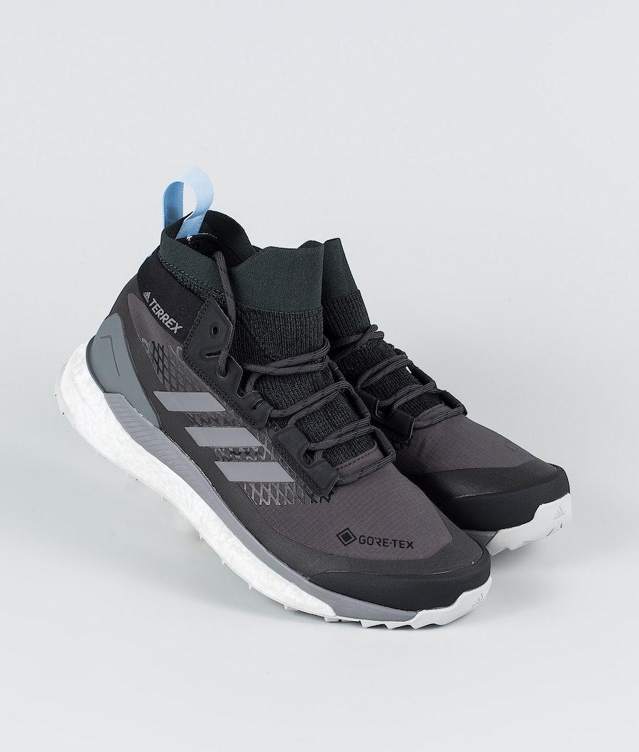 Adidas Terrex Terrex Free Hiker GTX Women's Shoes Carbon/Grey Four/Globlu